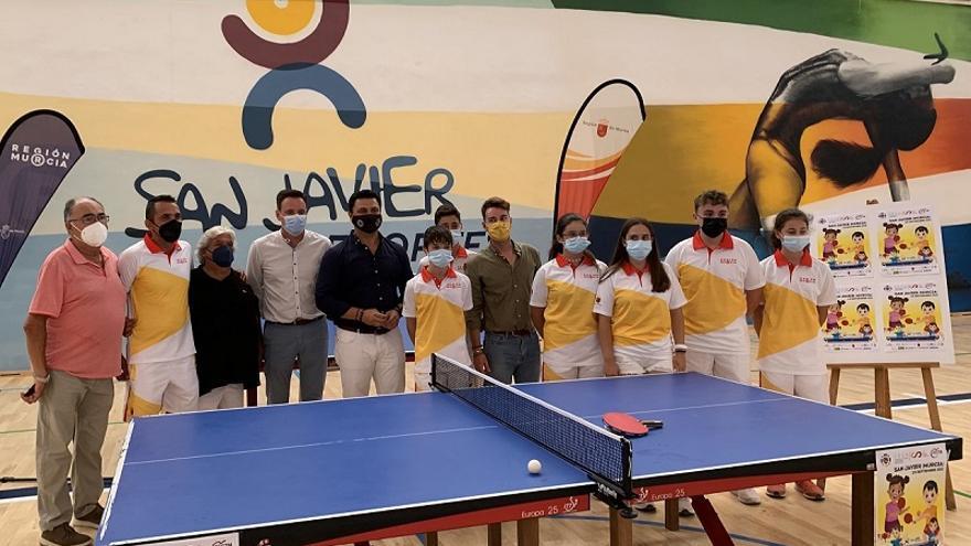 San Javier abrirá sus puertas para recibir a los mejores jugadores de tenis de mesa en edad escolar