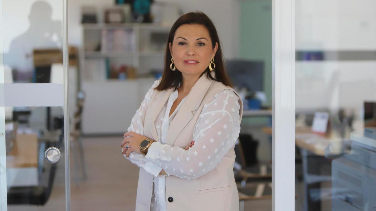 Cristina Plumed, presidenta de Asecam.