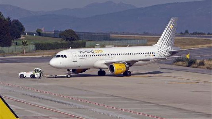 Vueling desvela los nuevos horarios del vuelo entre Vigo y Barcelona