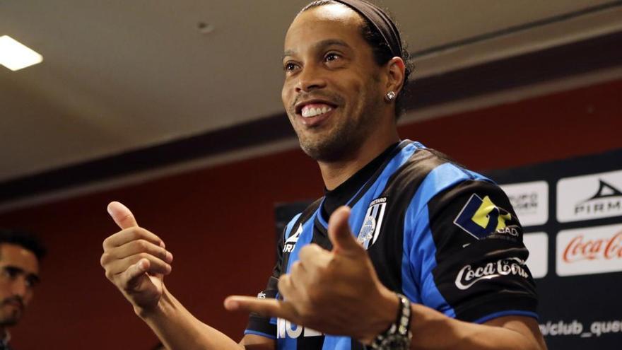 El fillol de Ronaldinho brilla al MIC