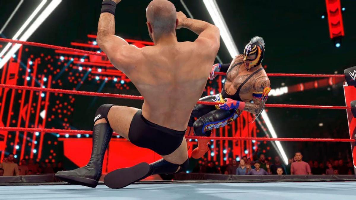 WWE 2K22: Rey Mysterio hace estallar WrestleMania con el primer tráiler del juego.