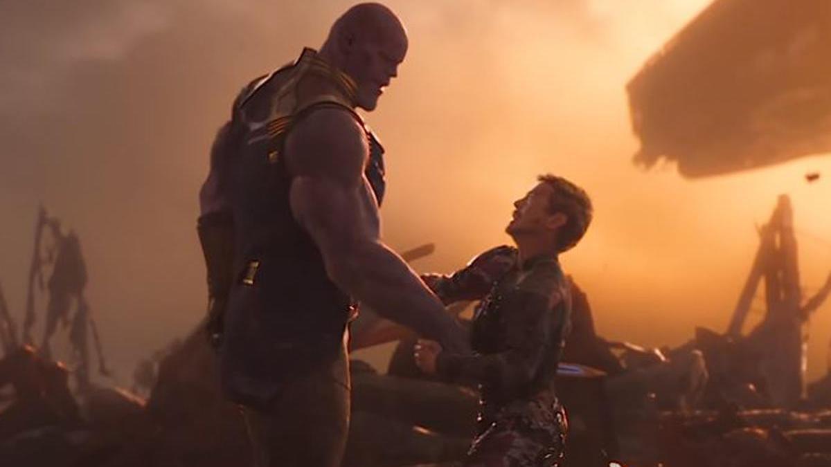 Una imagen de una película de 'Los Vengadores'.