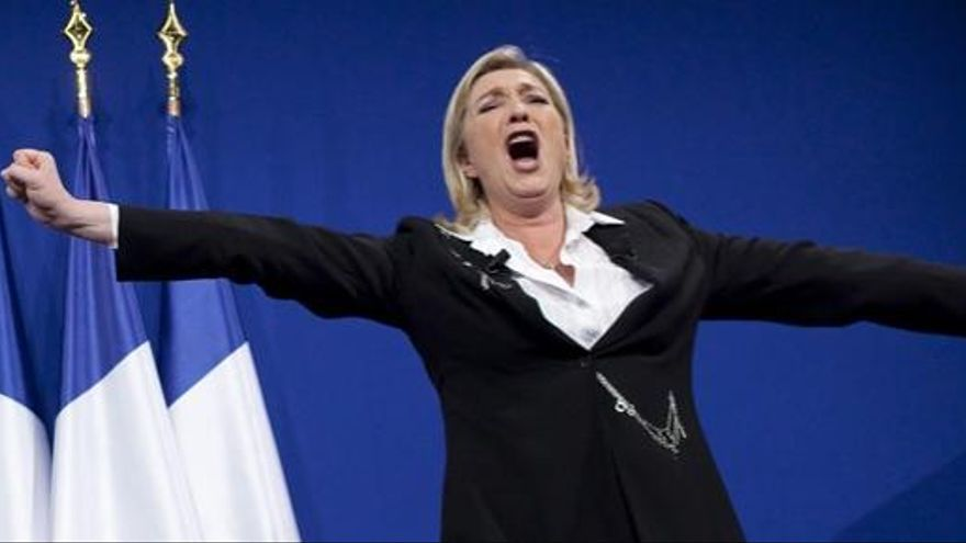 El Frente Nacional lidera las encuestas en Francia