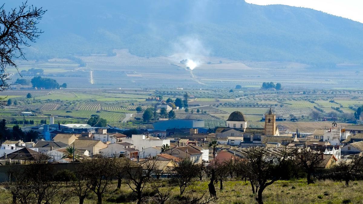 Vista panorámica de Salinas.