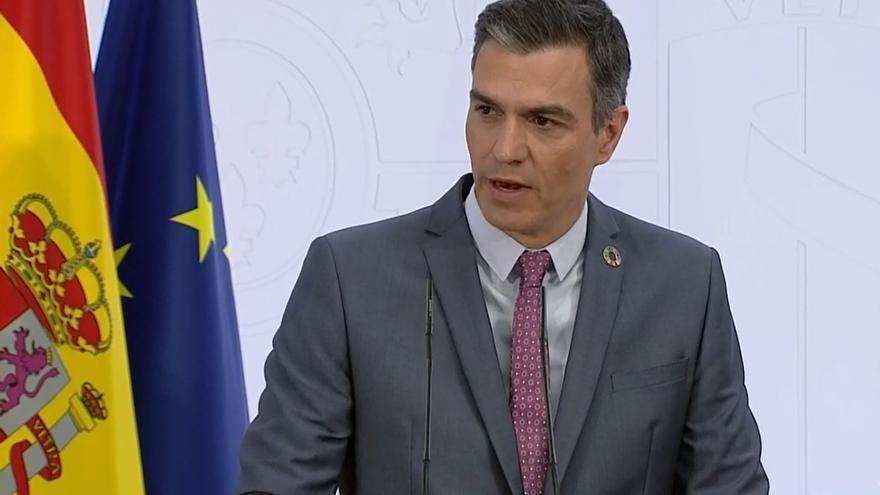 Sánchez resalta que España liderará el crecimiento económico en 2022