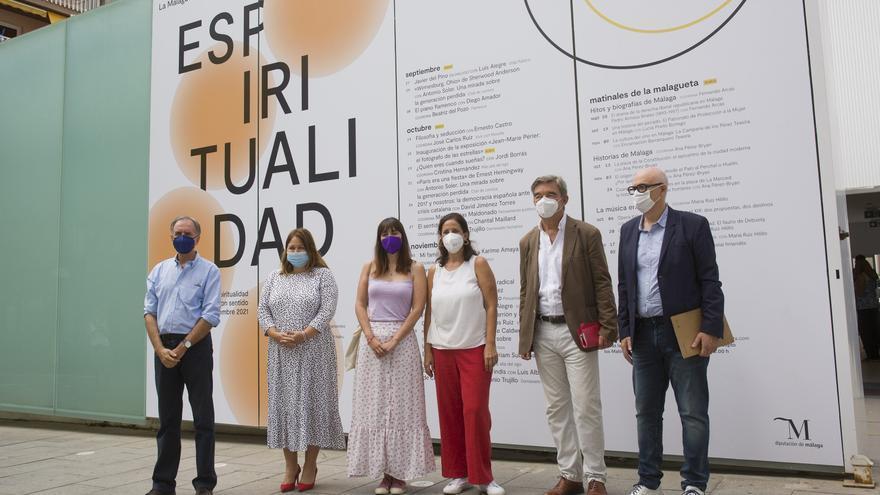 El Centro Cultural La Malagueta ofrece en otoño más de 30 eventos de política, filosofía, literatura o flamenco