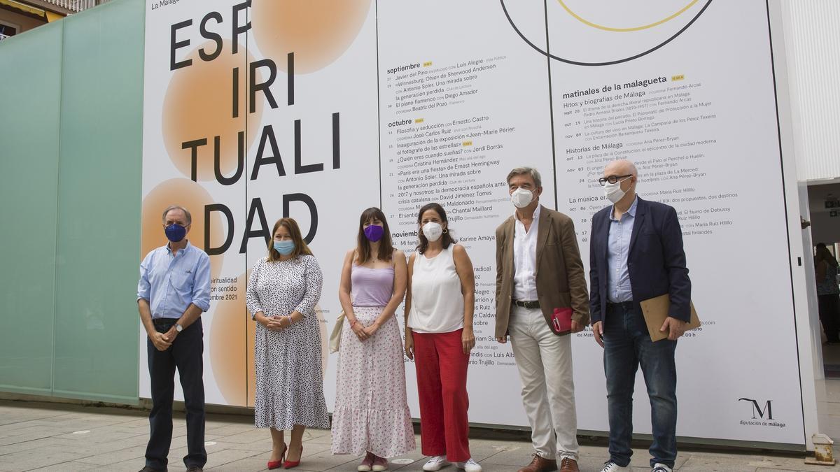 Presentación de las actividades de otoño del Centro Cultural La Malagueta de la Diputación de Málaga