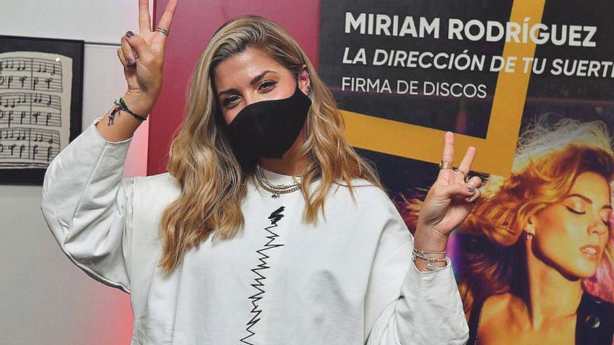 Miriam Rodríguez: «El disco es un reflejo de dos años de trabajo, de madurez, de ver las cosas con perspectiva»