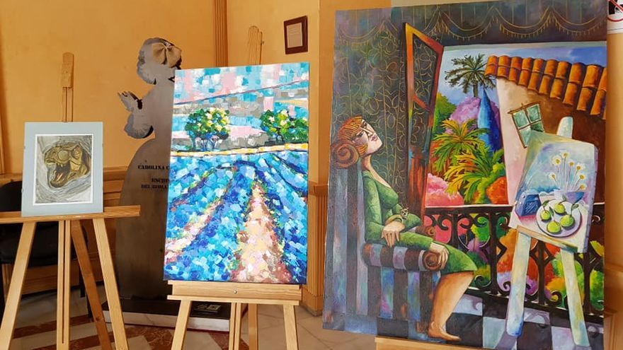 Vito Cano gana el concurso de pintura y se lleva el premio de mil euros