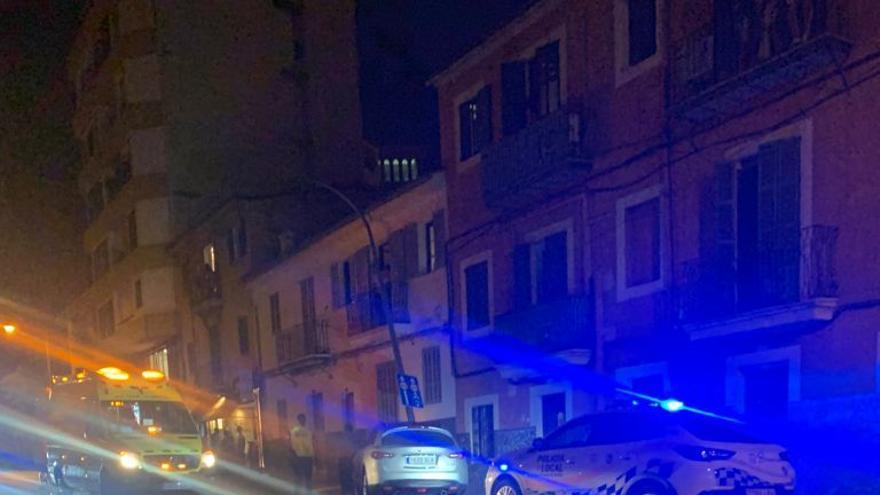 Dos peatones heridos, uno muy grave, al ser arrollados por un conductor ebrio en Palma