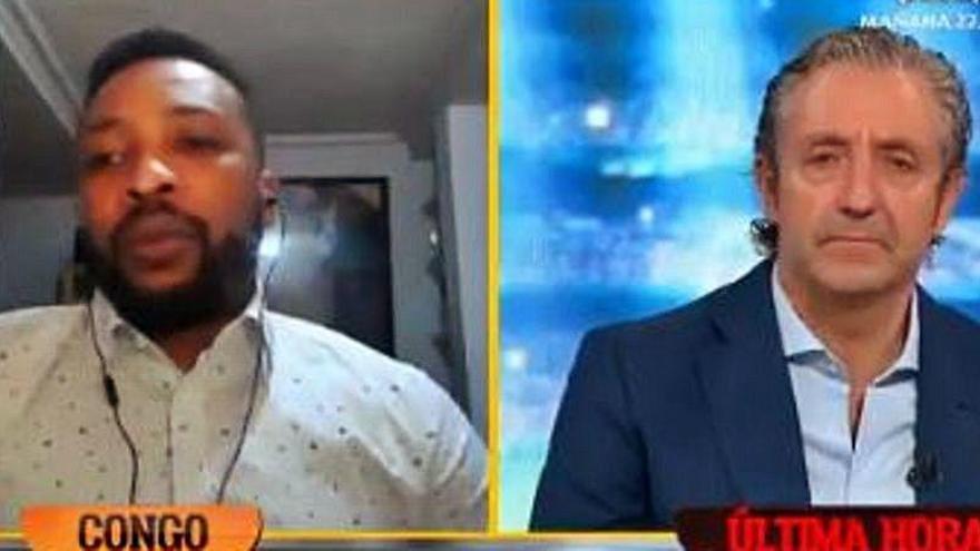 Edwin Congo habla tras salir de comisaría