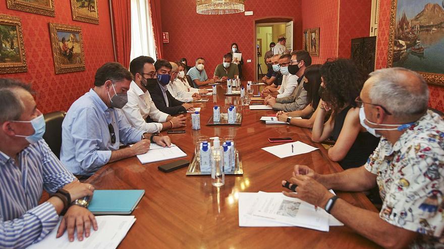 Últimos pasos para licitar el colegio La Almadraba y el nuevo Conservatorio