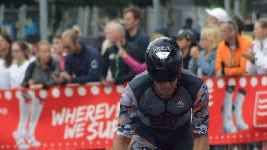 Luis Feliz, undécimo en el Ironman de Kalmar