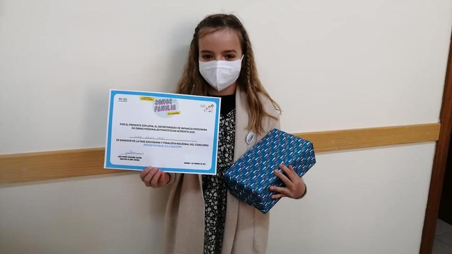 Dos niñas zamoranas ganan el segundo premio del Concurso Nacional de Infancia Misionera