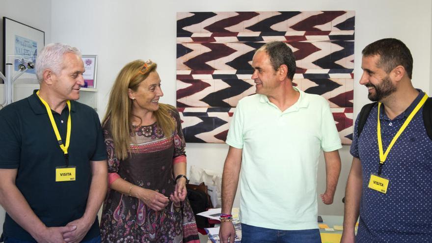 Los alcaldes de Genovés, Barxeta y Llocnou de Fenollet se reúnen con la diputada de Inclusión, Empar Folgado