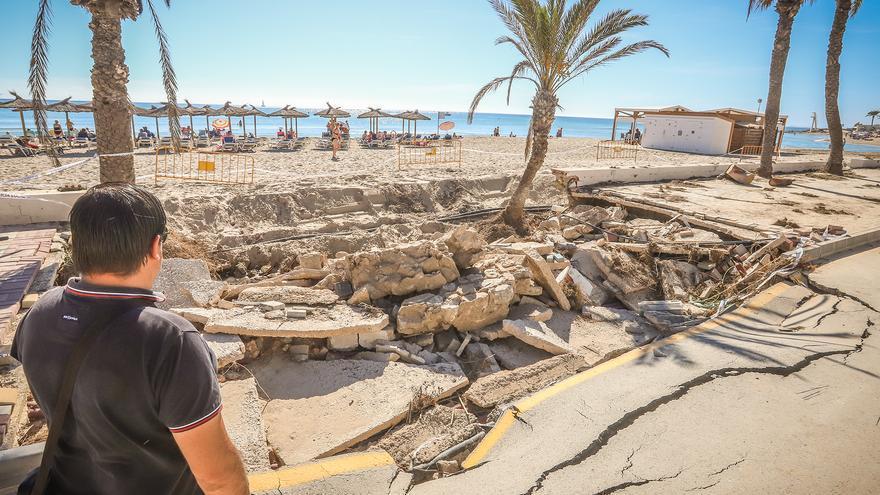 Orihuela tarda un año en contratar la obra de 72.000 euros de reparación de daños por la DANA en Campoamor