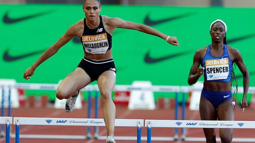 Sydney McLaughlin bate el récord mundial de 400 metros vallas