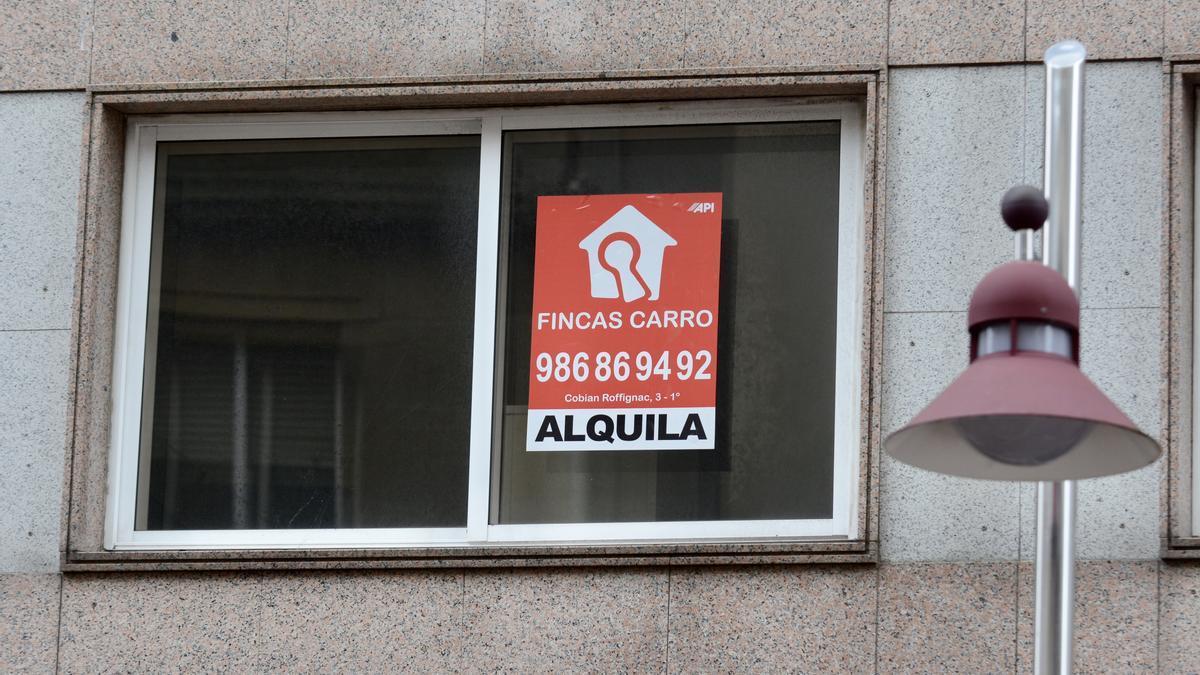 Piso en alquiler en Pontevedra.