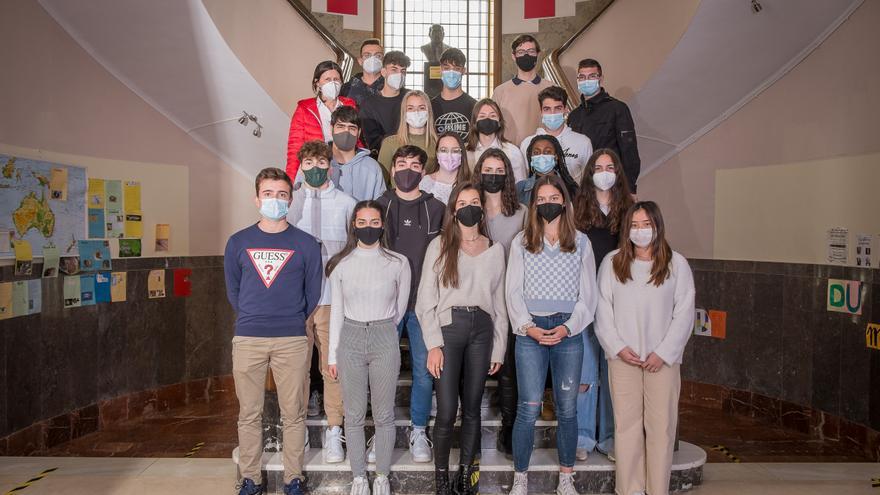 Despedida de los estudiante de 2º de Bachillerato del IES Ramón y Cajal de Huesca