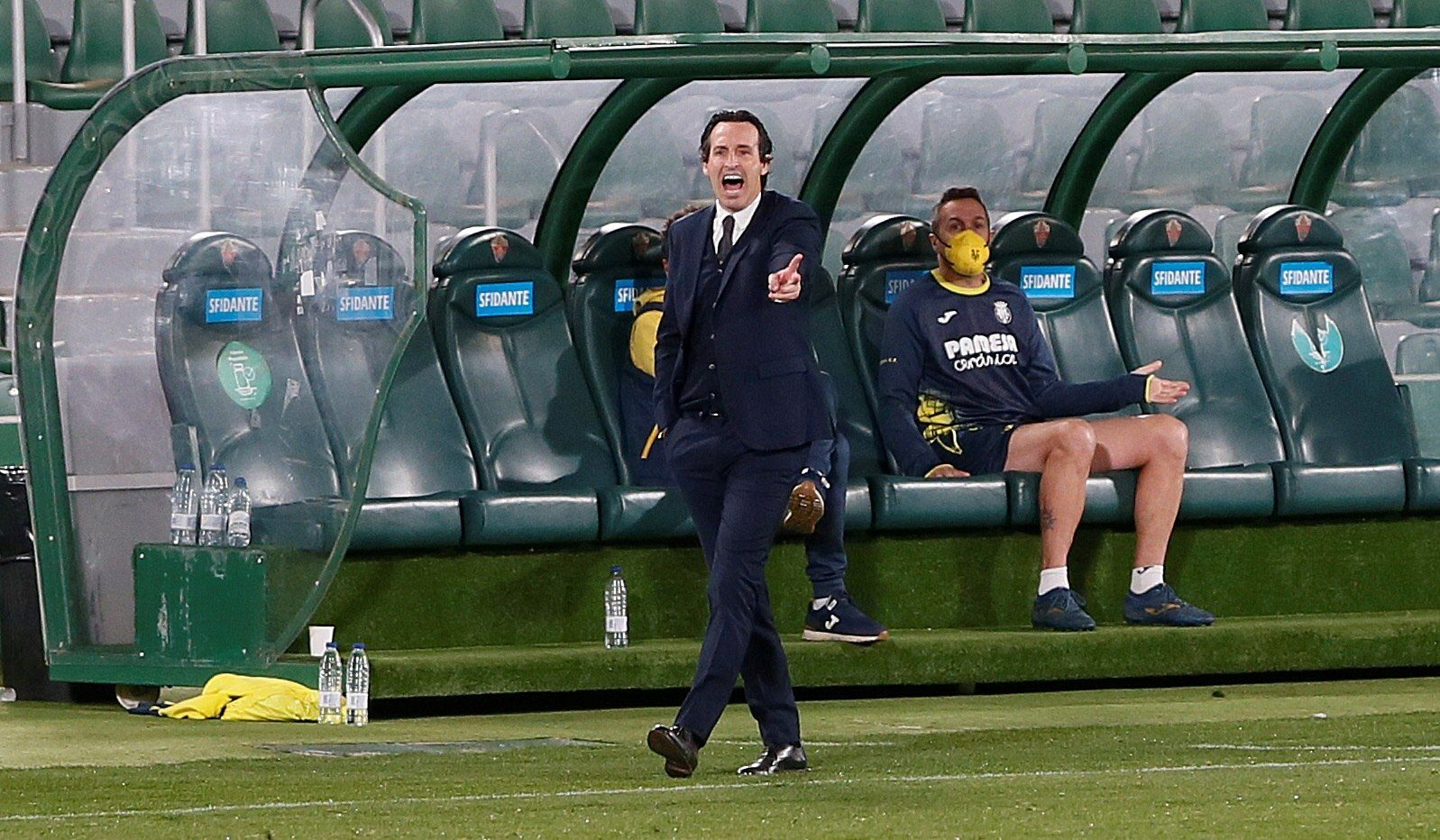 Elche CF - Villarreal, las imágenes del partido