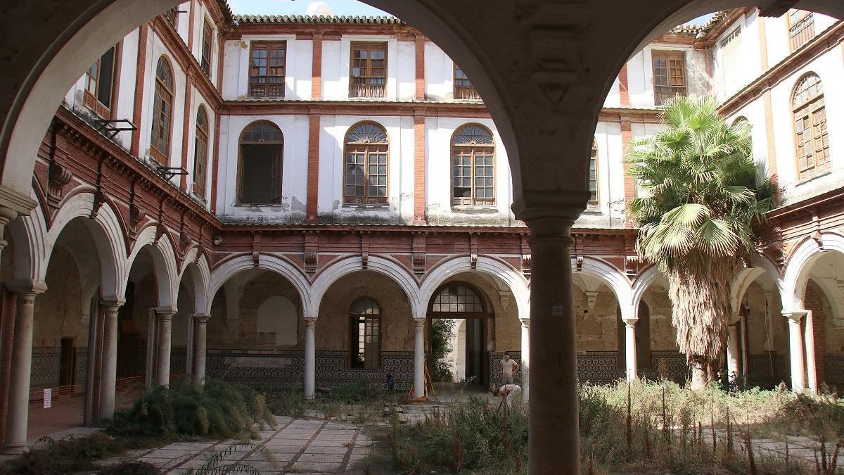Imagen de archivo del convento de San Agustín.
