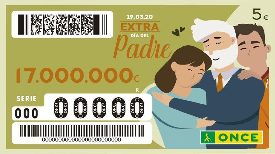Sorteo de la ONCE del Día del Padre 2020: comprueba el número premiado con 17 millones de euros
