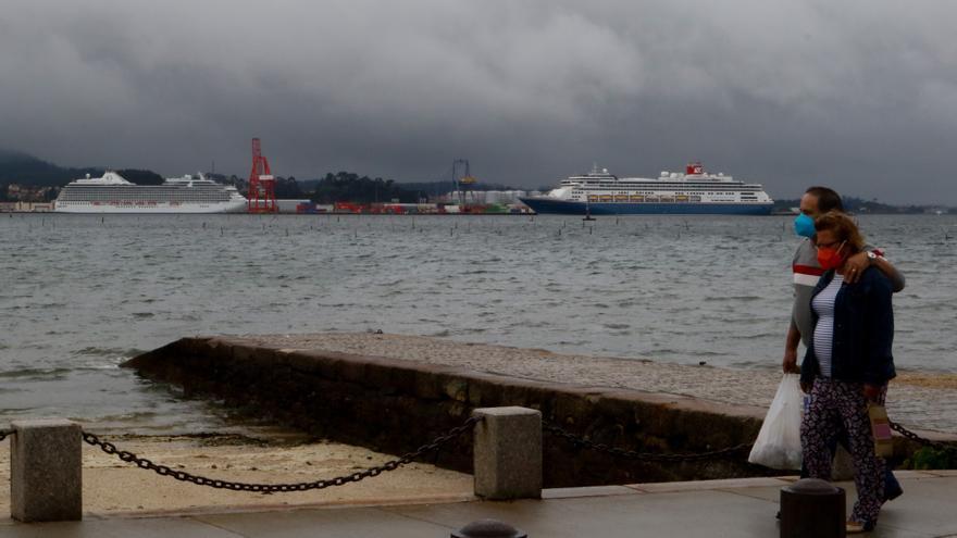 Vilagarcía vuelve a recibir cruceristas
