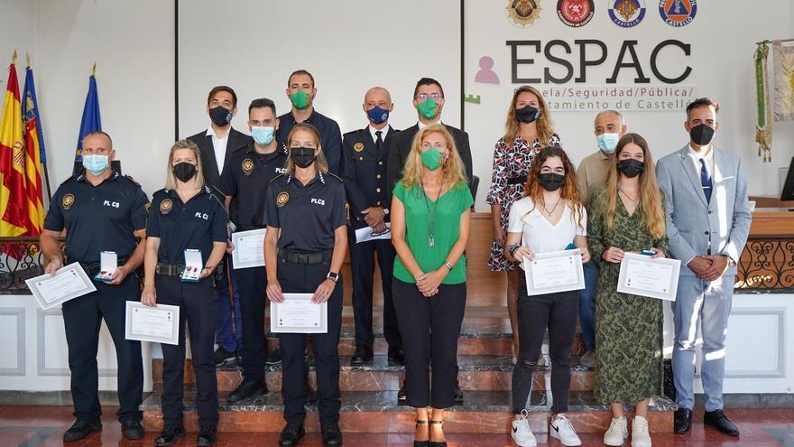 Los ciudadanos y los policías más ejemplares de Castelló