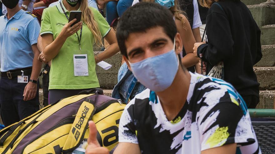 Carlos Alcaraz peleará por estar en la final de Cordenons