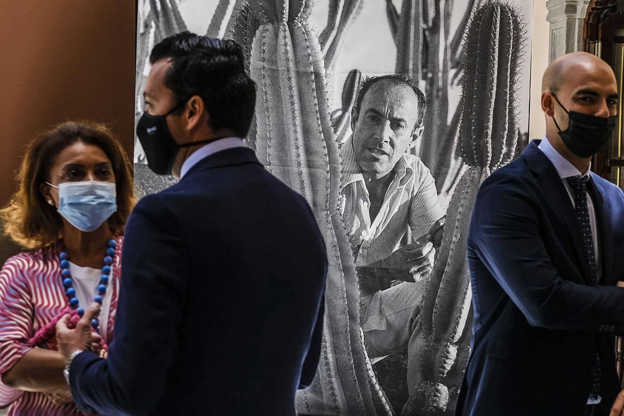 Exposición de fotografías 'Manrique inédito' en el Hotel Santa Catalina