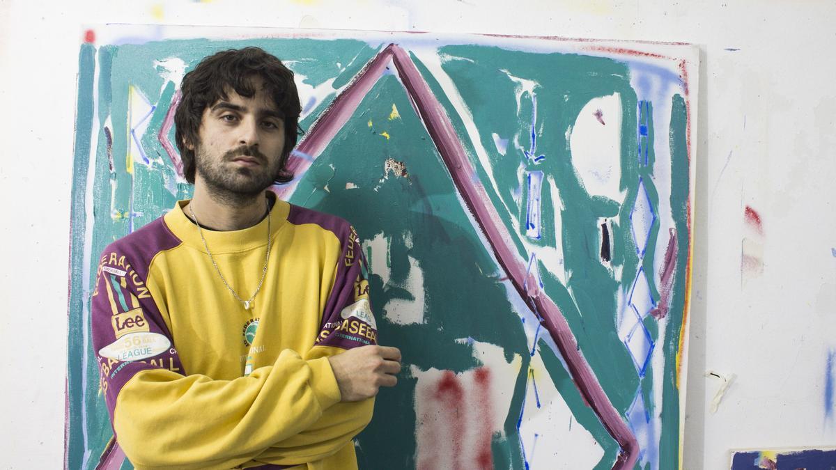 Carlos Pesudo es uno de los artistas jóvenes de la provincia con mayor proyección.