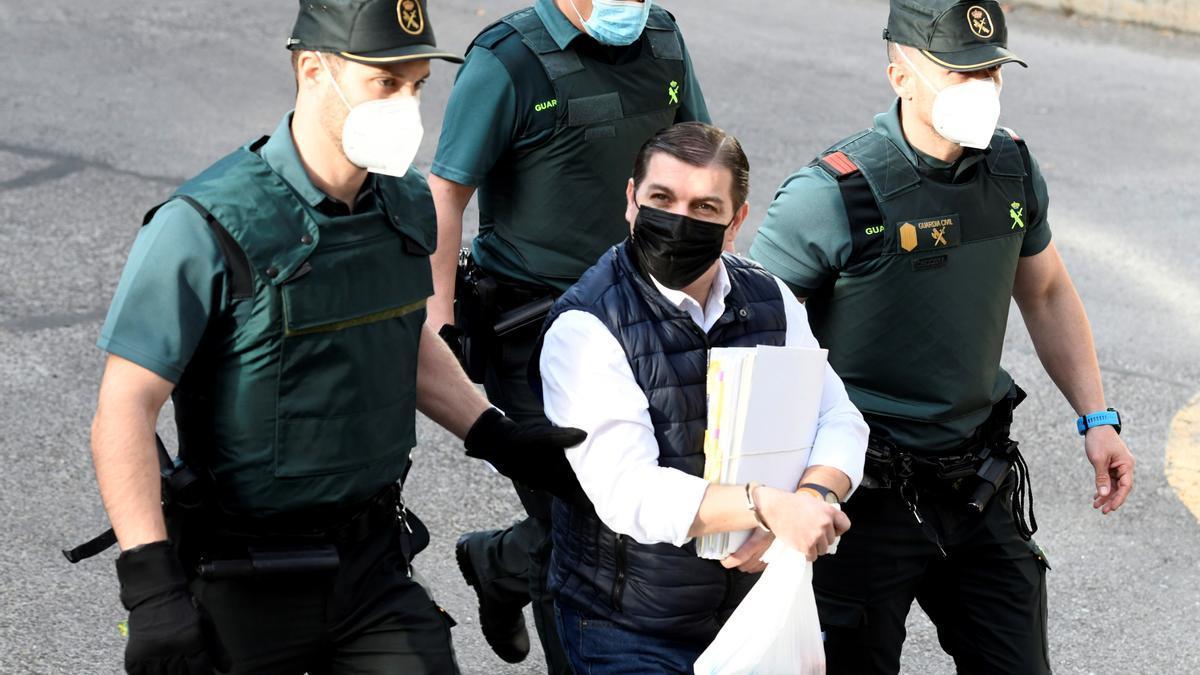 La Audiencia de Madrid consulta si prorroga la prisión al Rey del Cachopo