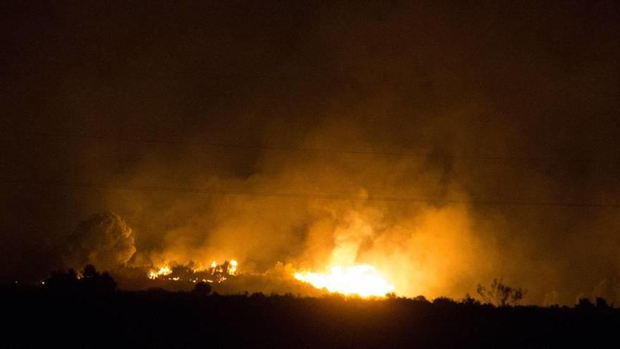 Casi la mitad de los incendios de este año han sido en el Mediterráneo