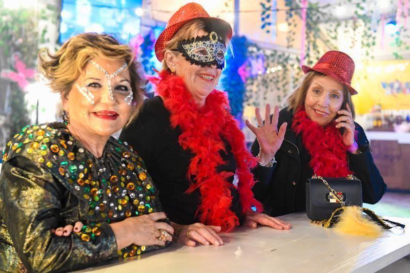 28-02-2020 LAS PALMAS DE GRAN CANARIA. Gala Drag Queen. Momentos previos a la gala  | 28/02/2020 | Fotógrafo: Juan Carlos Castro