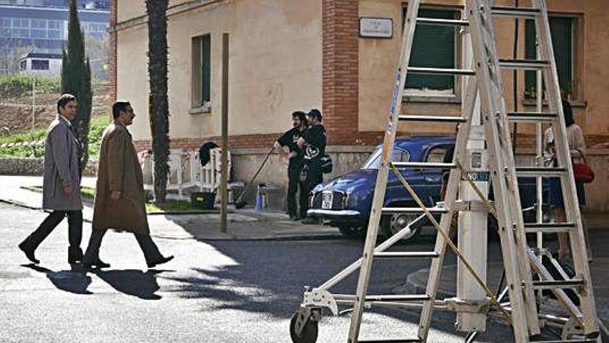 Eduardo Noriega porta la trama  d'«Hache» a la Sagrada Família