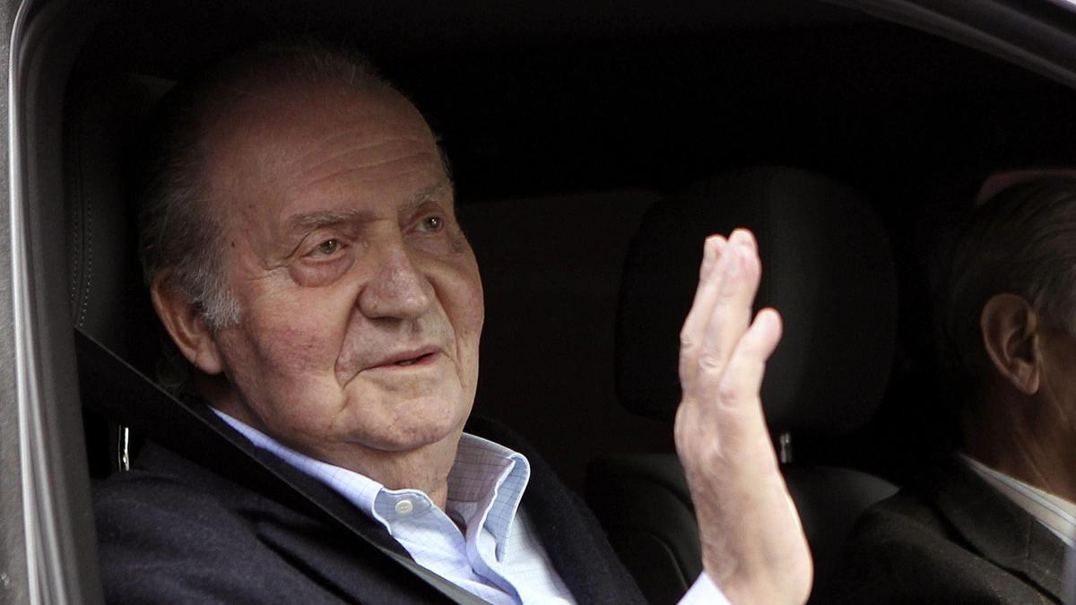 Una imagen de archivo del Rey Juan Carlos.