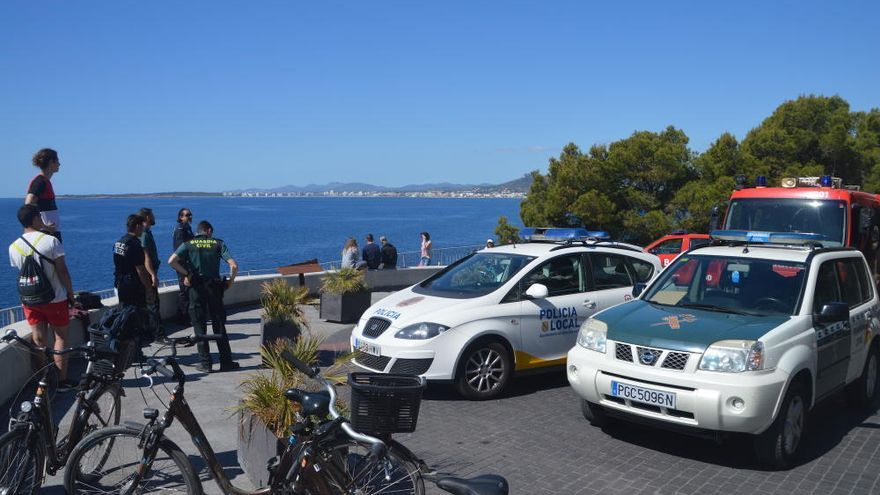 Hubschrauber rettet verletzten Wanderer auf Mallorca