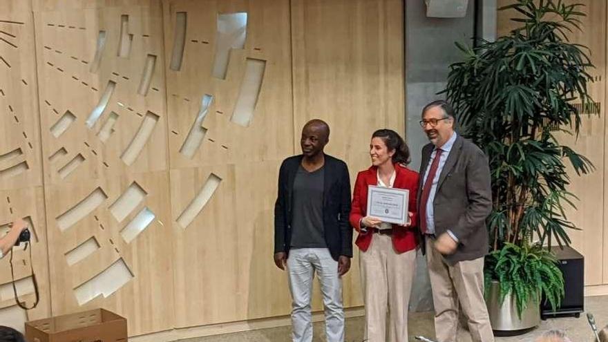 Premio con acento asturiano en el CERN