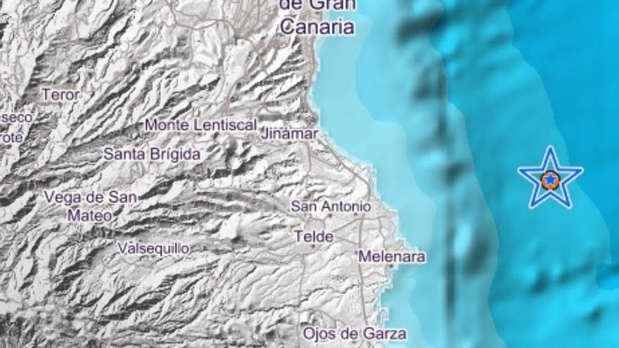 Terremoto en la costa de Gran Canaria
