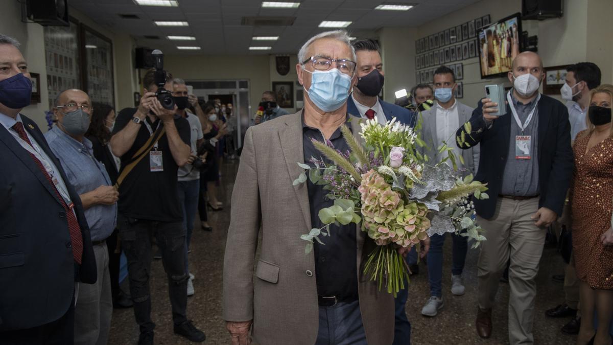 La emoción de Carmen Martín al convertirse en Fallera Mayor de Valencia de 2022