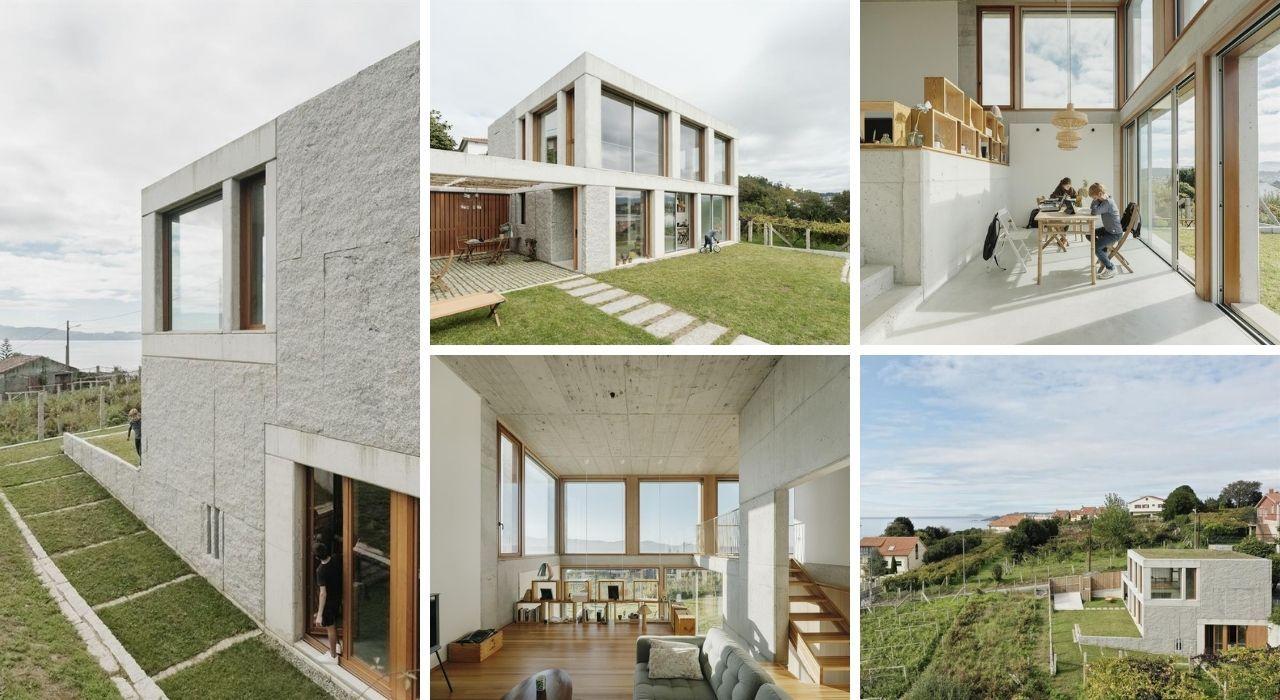 Echa un vistazo (por dentro y por fuera) a las ocho casas de las Rías Baixas candidatas a los Premios de Arquitectura