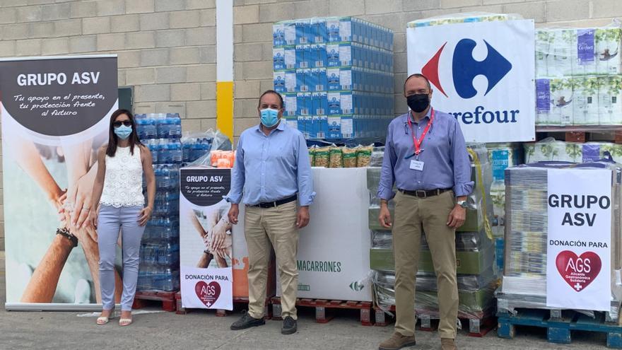Grupo ASV dona ocho toneladas de alimentos a Alicante Gastronómica Solidaria
