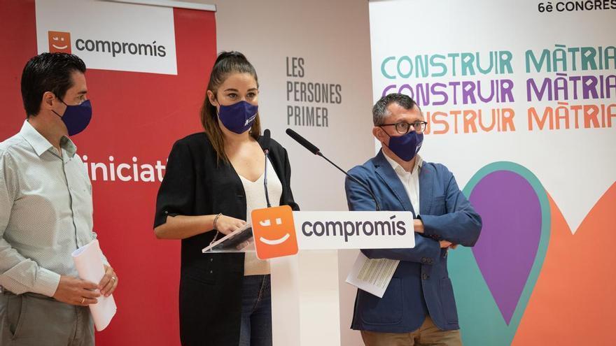 """Iniciativa llama a """"construir matria"""" en su VI Congreso y defiende que el """"éxito"""" de Compromís es ser plural"""