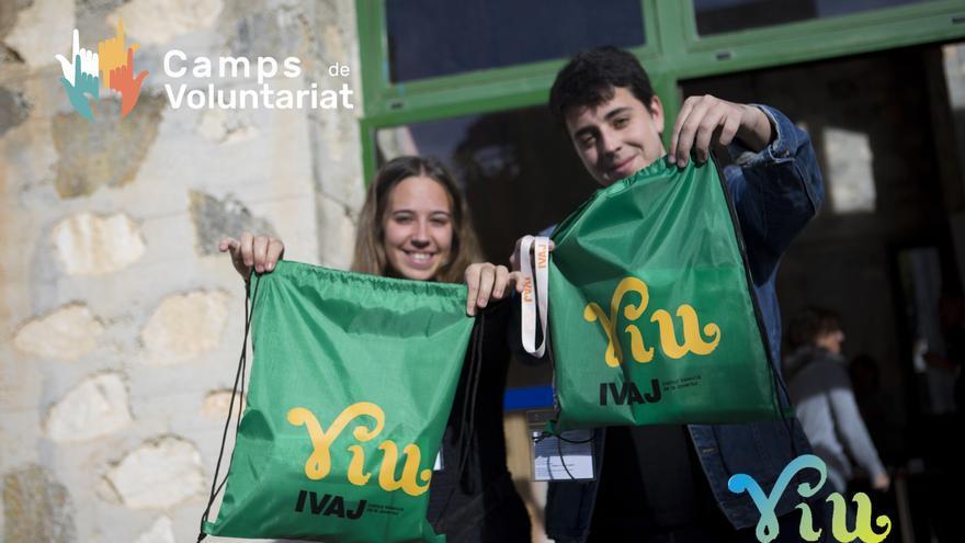 L'IVAJ convoca la campanya 'Viu la Solidaritat' per a camps de voluntariat juvenil 2021 en la Comunitat