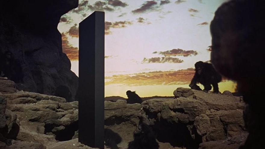 Aparece en Utah un misterioso monolito como el de '2001: Una odisea en el espacio'