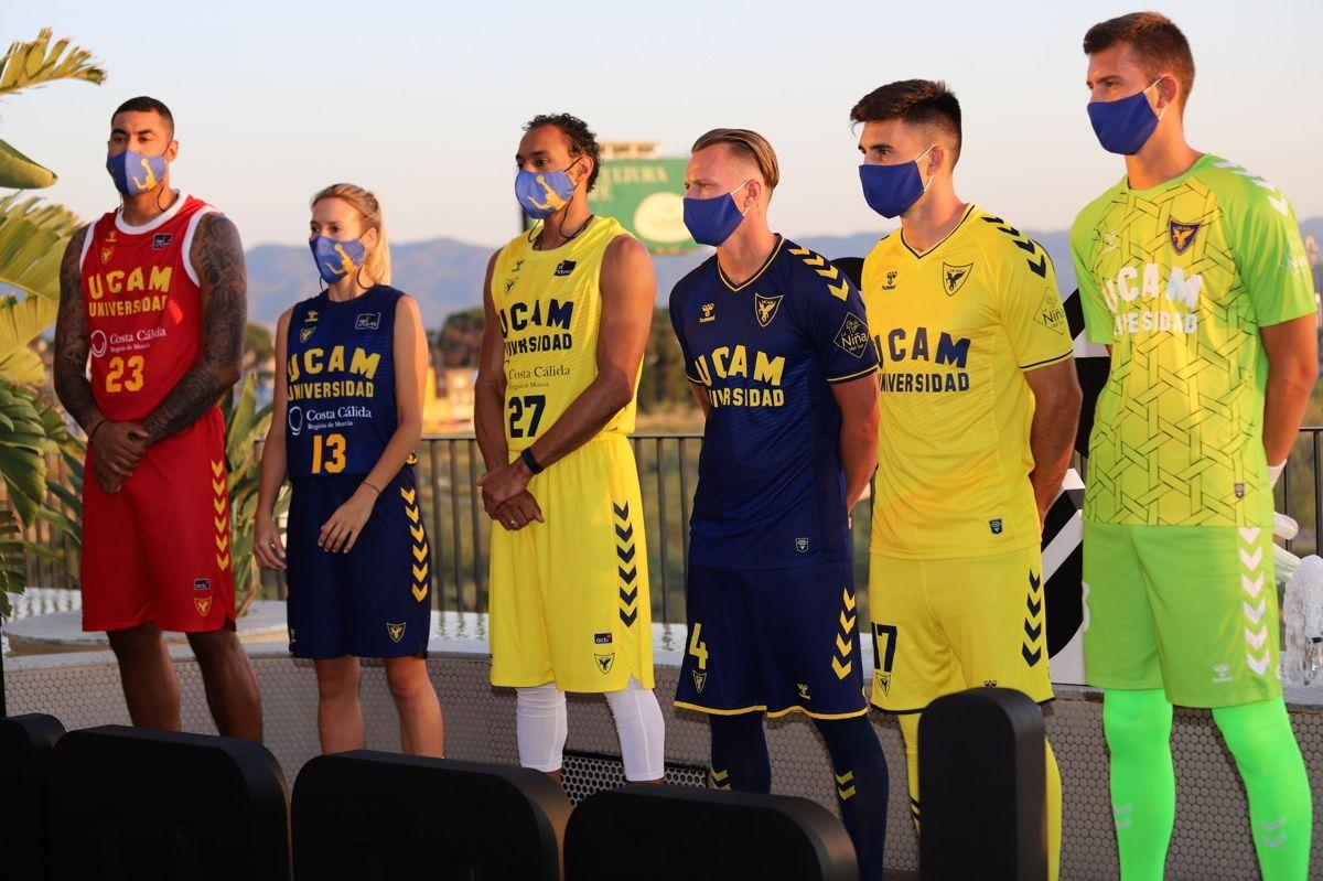 Los equipos de la UCAM presentan sus nuevas equipaciones