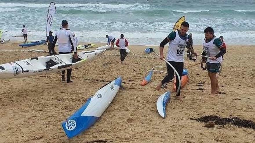 El tricampeón de España, Kiko Vega, dominó la regata en la prueba reina