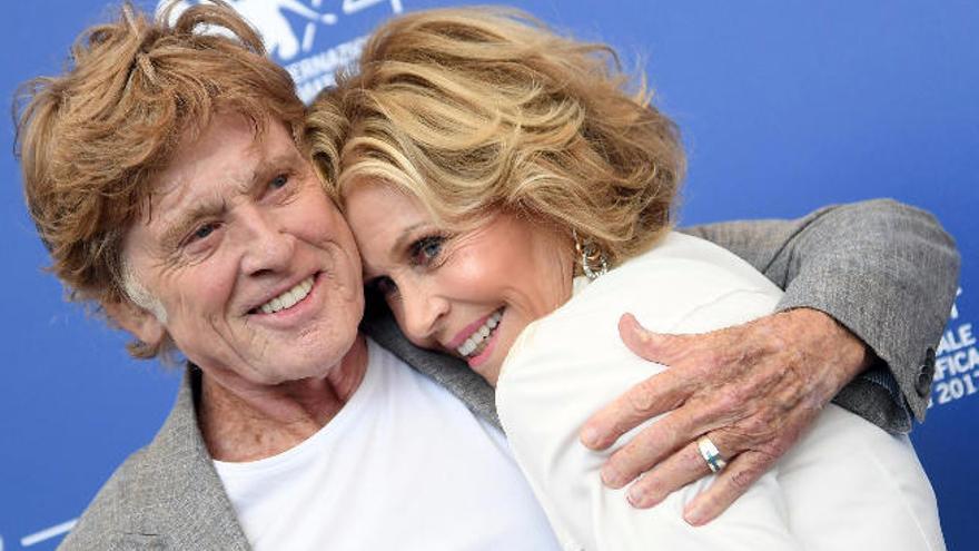 Redford y Fonda reinan en Venecia