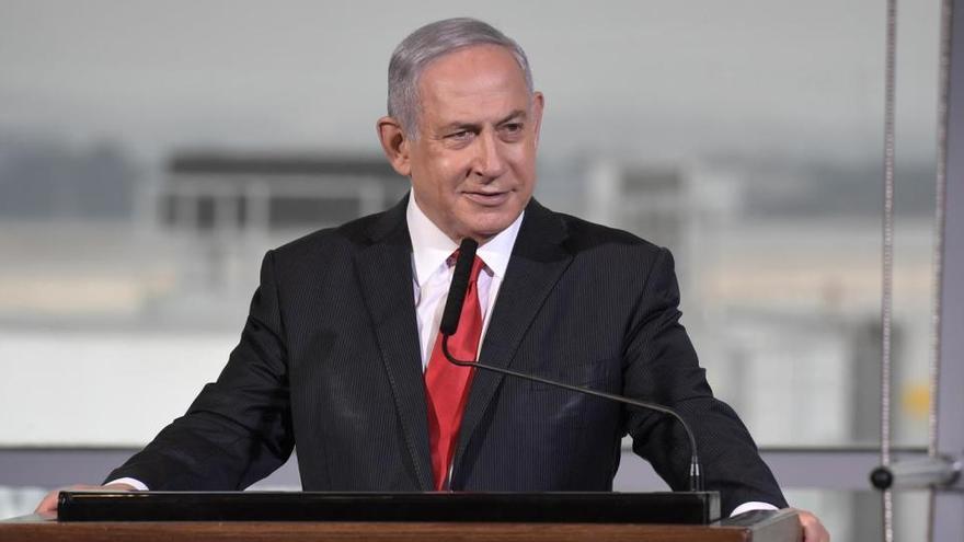 Netanyahu, en cuarentena tras haber estado en contacto con un positivo