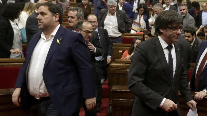 Puigdemont ofreció la presidencia a Junqueras, que la rechazó
